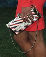 Authentic Kate Spade Cha Cha Chocolate Clutch handbag Bag Purse NWT CANDY BAR