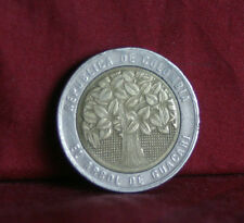 2004 Colombia 500 Pesos Bi Metallic World Coin KM286 Guacari Tree  South America