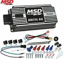 MSD 64253 Ignition Box Digital 6AL with Rev Limiter SBC BBC SBF Chevy Ford BLACK
