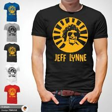 Mr Blue Sky T Shirt Jeff Lynne ELO Tribute Rock Music Retro Classic Cool Black