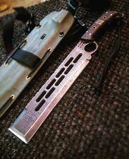 Integrity Implements Boaz Handmade Custom Machete 1095 fulltang billet knife