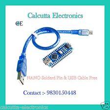 USB Nano V3.0 ATmega 328 16M 5V Micro-controller CH340G With USB Cable