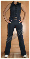 Overall Gr. S Catsuit Jumpsuit stretch im Jeanslook (#1008)