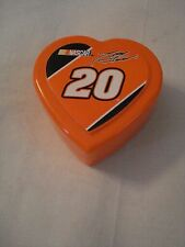 NASCAR TONY STEWART COLLECTORS HEART SHAPE box