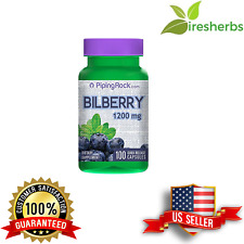 BILBERRY FRUIT EXTRACT 1200MG KIDNEY URINARY TRACT EYE VISIONS UPPLEMENT 100 CAP