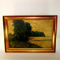 Tonalist Landscape Oil Painting Signed A. Wieth