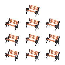 YZ87 10pcs Model Train HO TT 1:87 bench chair settee