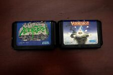 Sega Mega Drive Alienstorm + Vermlion Japan Genesis original games US Seller