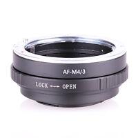 AF-M4/3 For Sony A Minolta AF Lens to Olympus MFT OM-D Panasonic GH4 G6 Adapter