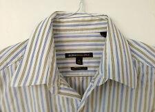 BCBG MAX AZRIA Pinstripe Button Down Shirt Size M (15 1/2 -34/35)