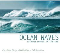 OCEAN WAVES CD - RELAXATION STRESS SLEEP AID CALM NATURE NATURAL SOUNDS