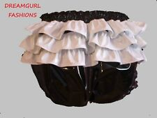 Noir Brillant Sissy Souillon tour de cou 24 mm de largeur standard Boucle Suspension d