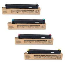 Sharp MX-23GT Full Set of 4 Toner Cartridge's {Blk,Cyan,Magenta,Yellow}