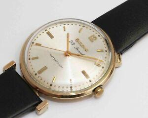 1960 vintage Asymmetrical Bulova 23 jewel men's wristwatch - EXCELLENT & WORKS