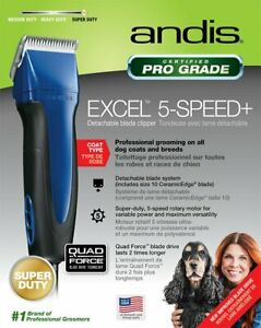 Andis Excel 5-Speed Detachable Blade Pet Clipper