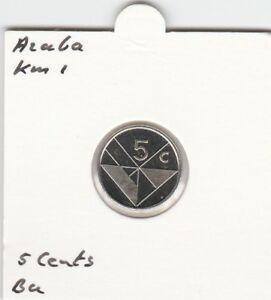 Aruba 5 cents 2003 BU - KM1