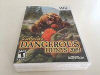 Cabela's Dangerous Hunts 2009 (Nintendo Wii, 2008) WII NEW