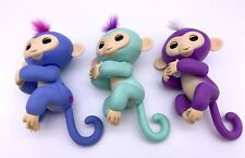 Electronic Interactive Fingerling Happy Monkey Finger Motion Pet - Lot of 3