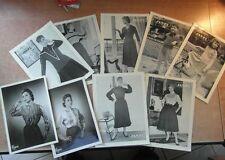 CATALOGUE BROCHURE MODE OLD FASHION PHOTOS TRICOTS JANPI + EGAM 1956-1957