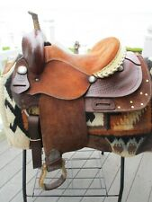 14'' Santa Fe western barrel saddle FQHB