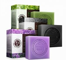 Natural Organic Green Charcoal Rose Whitening Handmade Soap Lightening Skin