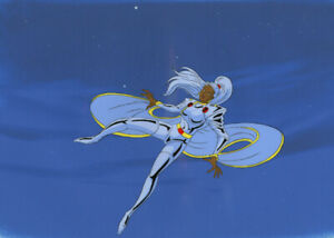 The X-Men Animation Cel Storm With Ponytail COA