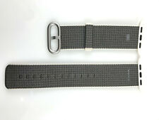 Original Apple Watch Series 5 4 3 Woven NYLON Band Silver buckle 42MM 44MM Pearl