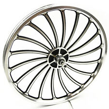 Latest Aluminum Bicycle Front or Rear Wheel 20 X 1.75/2.125/2.5'' eBike Chopper