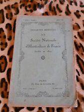 Bulletin mensuel de la société nationale d'horticulture de France - août 1932