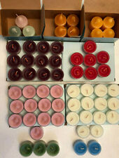 Lot of 60 Partylite Votive & Tea Light Candles Mixed Scents New Nib