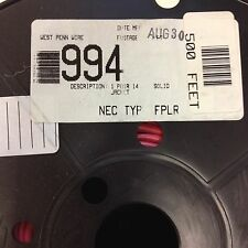 West Penn Wire 994 1 Pair 14 AWG Solid Jacket 500 feet