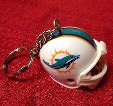 Miami Dolphins NFL Helmet Keychain Key Chain NEW LOGO