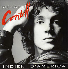 RICHARD CONTELL INDIEN D'AMERICA / LES PORTES DU TEMPS FRENCH 45 SINGLE