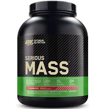 Optimum Nutrition Serious Mass Weight Gainer Protein Powder, Strawberry, Vanilla