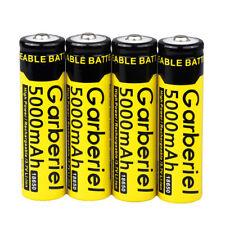 3.7v 4pcs E-shinre 18650 5000mah Rechargeable Lithium Li-ion Battery