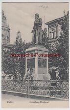 (111148) AK Mainz, Gutenberg Denkmal 1907