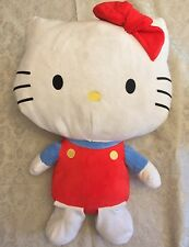 "25"" Jumbo Authentic Hello Kitty Cat Huge Plush Toy Stuffed Animal Doll Large Big"