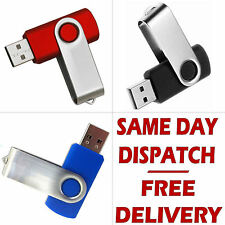 Memory Stick 8GB USB 2.0 Swivel Flash Pen Drive Thumb for PC Laptop TV Box etc