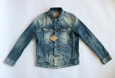 Replay Faded Denim Jacket Medium BNWT