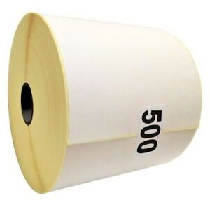 """5 x Rolls Direct Thermal Label 100 x 150mm (2500 Labels) 4 x 6"""" not 250 OR 350"""