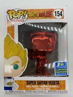 Funko Pop Super Saiyan Vegeta Red Chrome #154 Dragonball Z Summer Exclusive L03