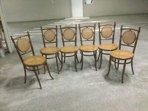 Antique Austrian chairs