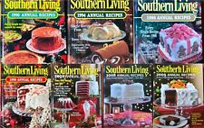 Southern Living Annual Recipes1990 1994 1996 1998 2005 2008 Cookbook U Pick