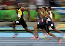 "Usain BOLT Jamaica Athletes The Fastest Man Sport 20""x13"" Poster 065"