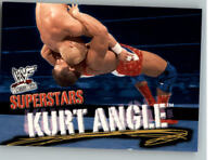 2001 Fleer WWE Wrestlemania #51 Kurt Angle