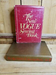 The New Vogue Sewing Book Hardcover 3rd Printing 1980