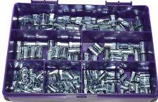 150 PIECE RIVNUT KIT HALF HEX STEEL RIVET NUTS BLIND REDUCED HEAD ASSORTMENT