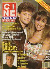 CINE REVUE 1990 N°45 kirk cameron david hallyday al pacino rachel ward l. taylor