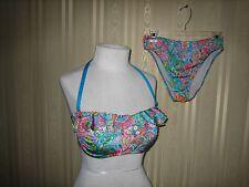women's gottex two piece bikini swimsuit size 34c top size 8 bottom