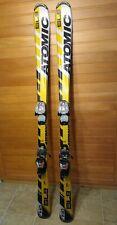 Atomic Snow Skis SL9 140cm Juniors Childrens Kids Aerospeed w/Marker Bindings